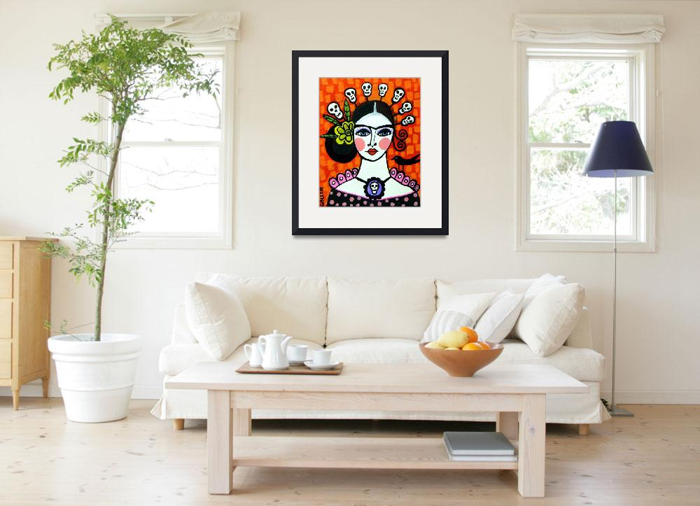 """""""Frida Day of The Dead&quot  by hgaller"""