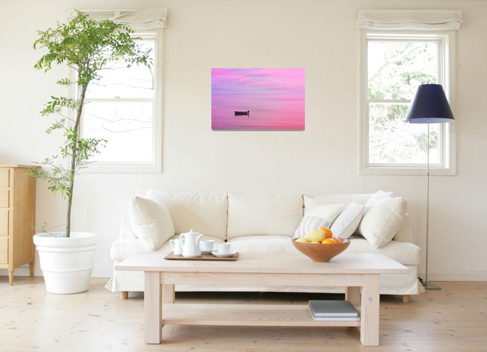 """Cape Cod : Pink Sunset""  (2019) by ChrisSeufert"