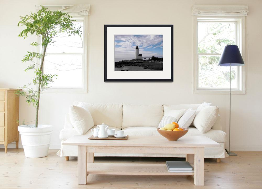 """""""Light of Day- Annisqaum Lighthouse""""  (2011) by KenHigginsPhotography"""