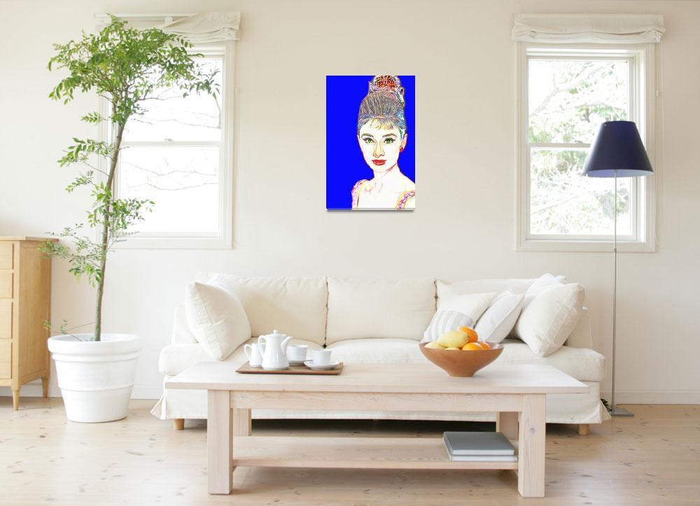 """Audrey Hepburn in  Breakfast at Tiffany"