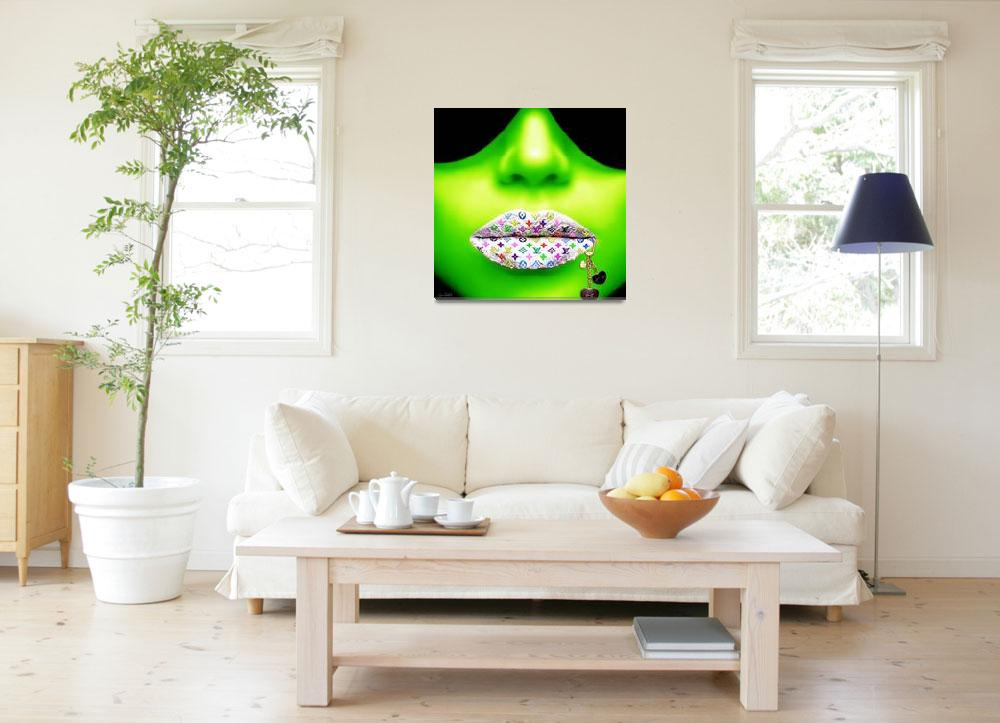 """"""""""" LV GREEN """"&quot  (2013) by Jean-Raphael"""