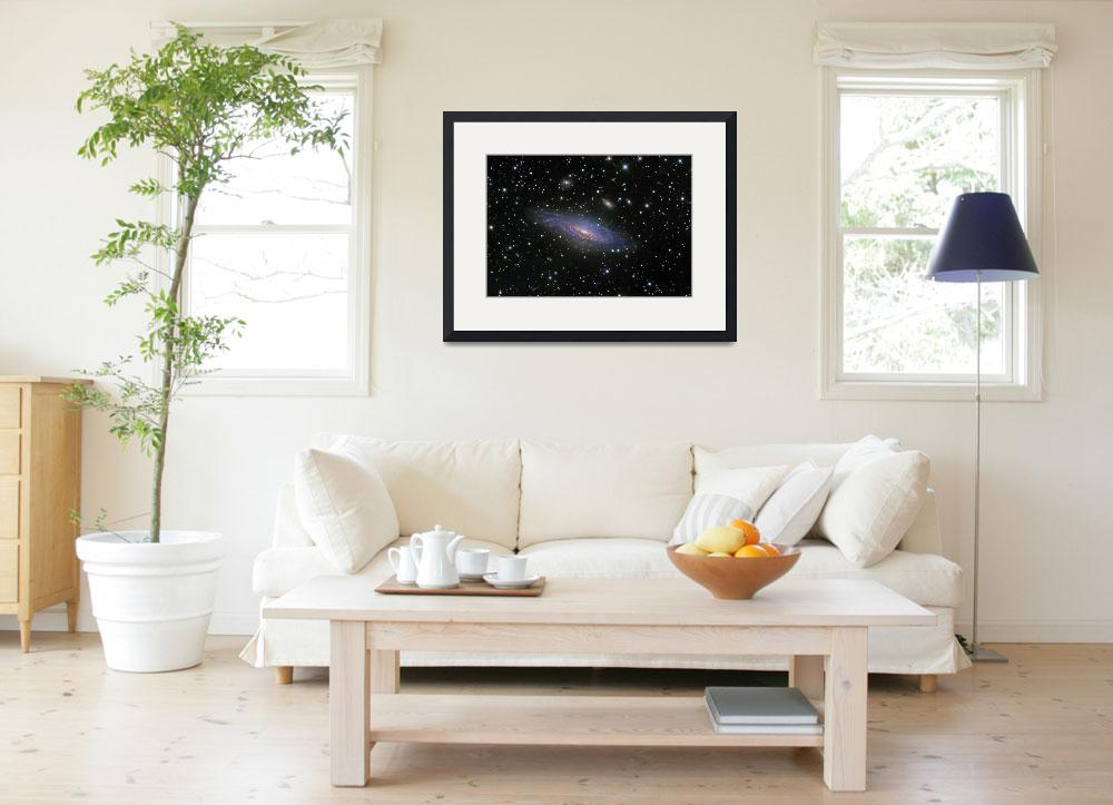 """""""NGC7331 Galaxy and its companion galaxies&quot  by stocktrekimages"""