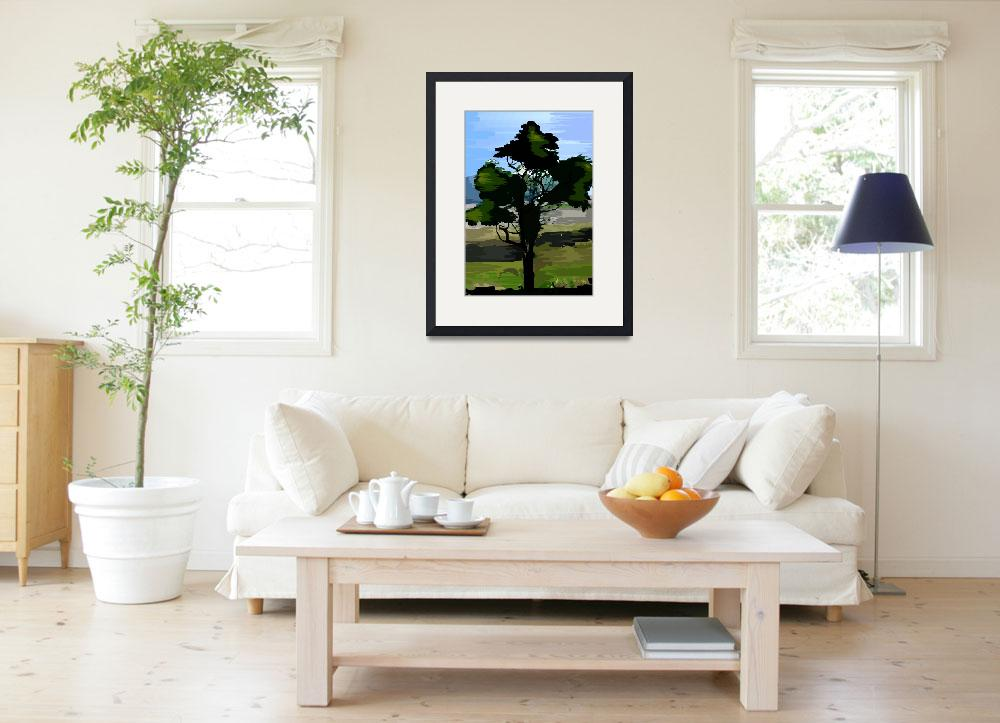"""""""Tree and nature&quot  (2009) by digitalpainting"""