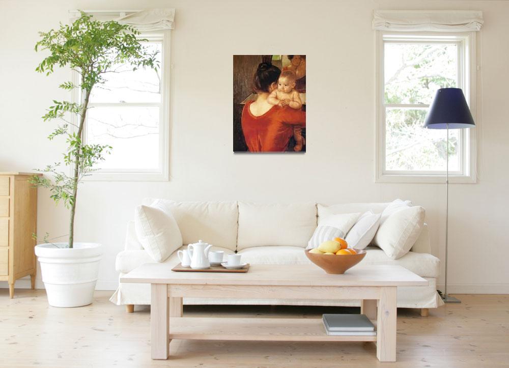 """Mary Cassatt Painting 47&quot  by ArtLoversOnline"
