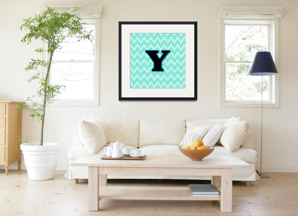 """""""Letter Y&quot  (2015) by paintingsbygretzky"""