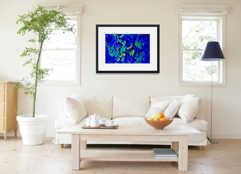 """""""Blue Maples&quot  (2011) by sandymaclean"""
