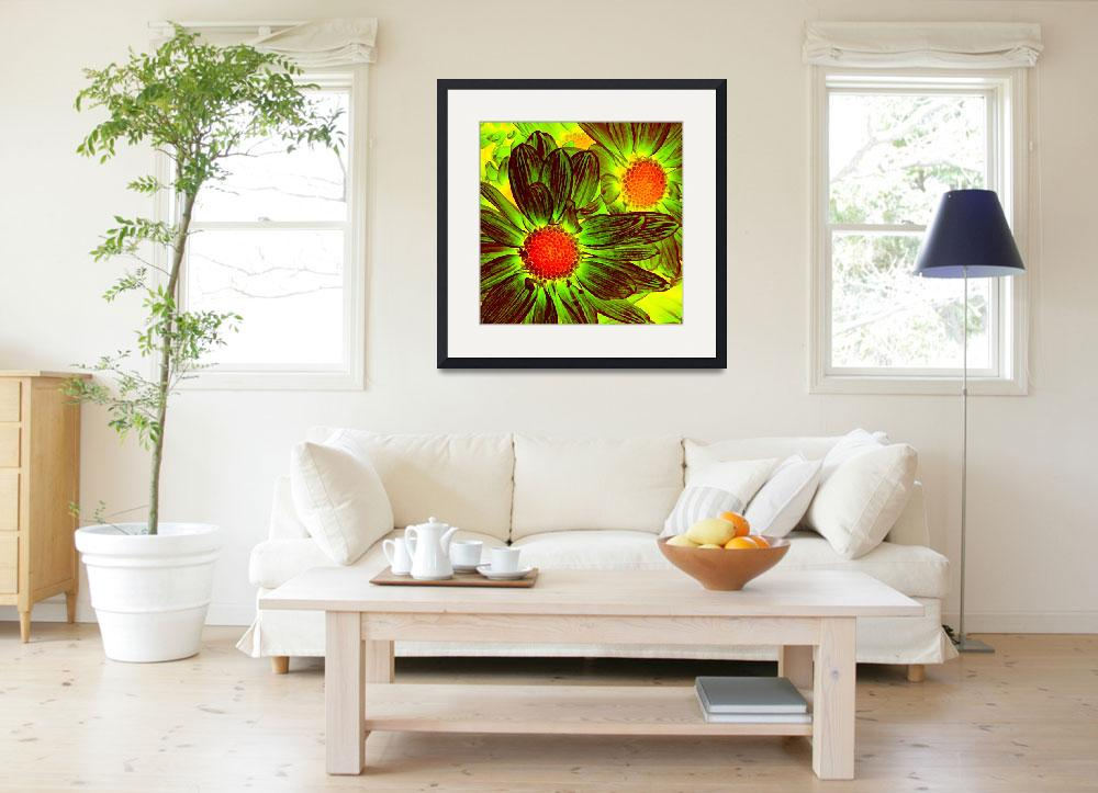 """""""Pop Daisies 5&quot  (2012) by AmyVangsgard"""