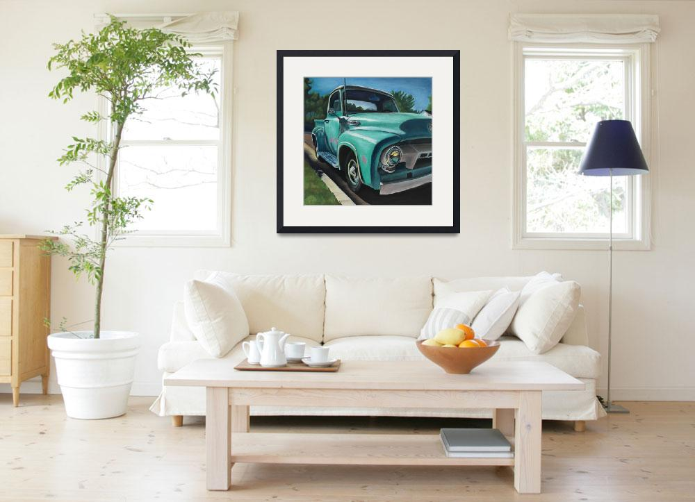 """""""Ford 150, Studio City&quot  (2017) by MaryDeChambres"""