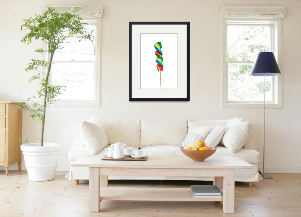 """""""Colorful lollipop separated. isolated on white.&quot  by Piotr_Marcinski"""