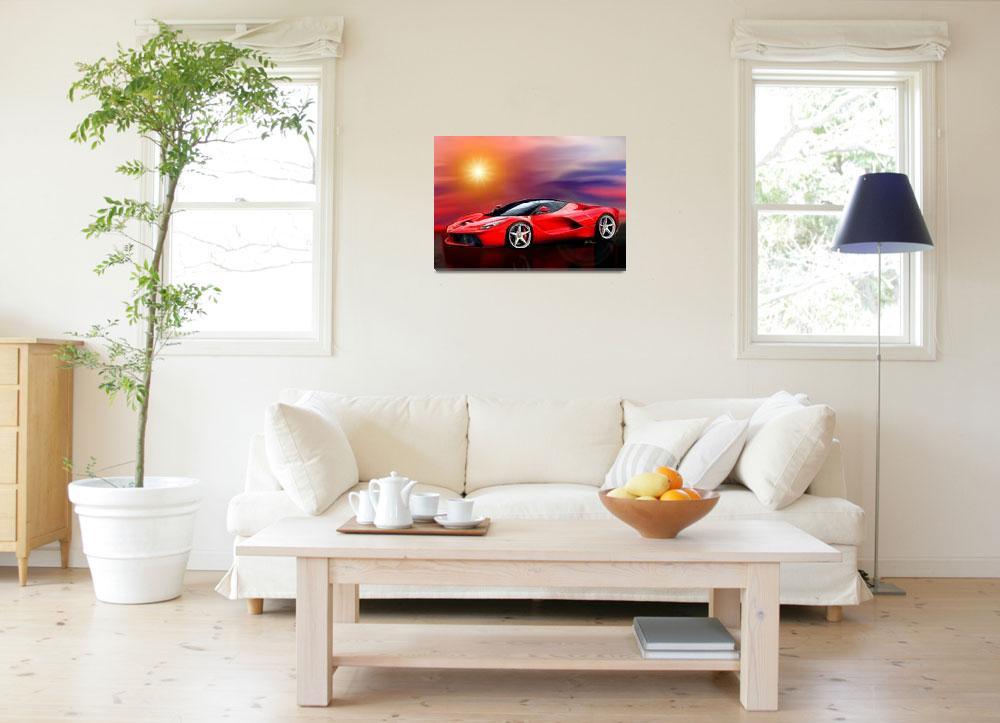 """Red Ferrari""  (2013) by jt85"