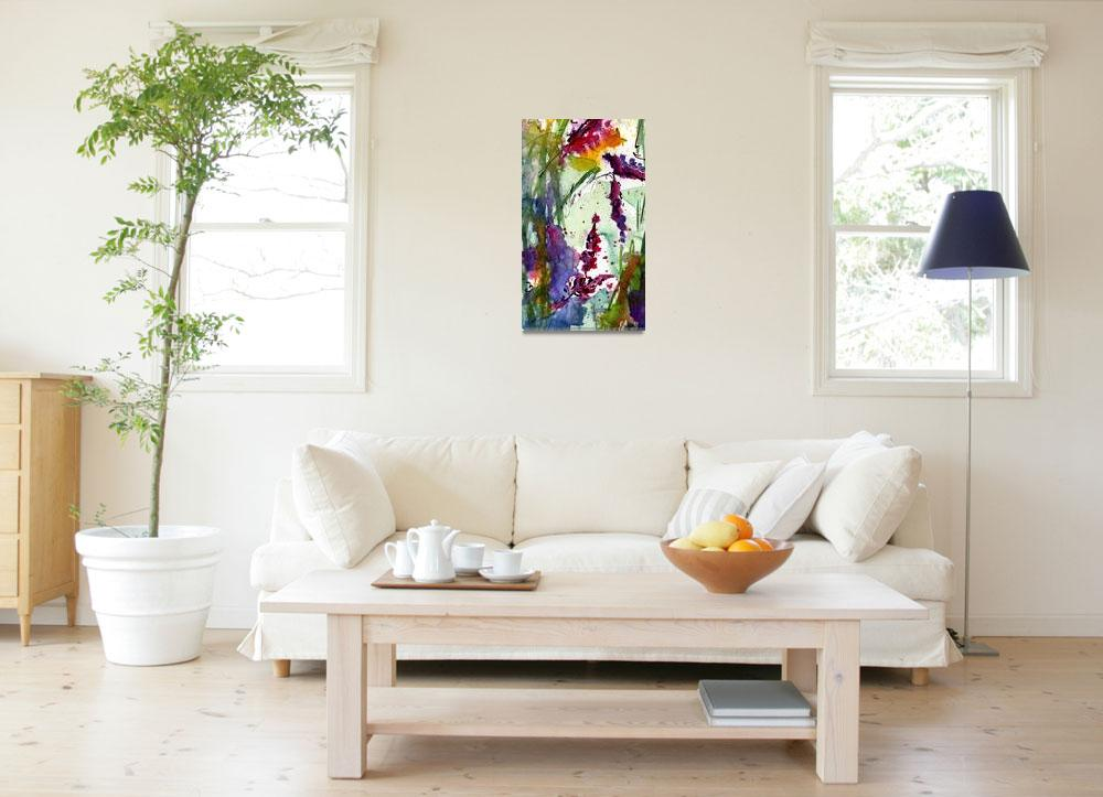 """""""Bumble 3 Abstract Original Art by Ginette&quot  (2010) by GinetteCallaway"""