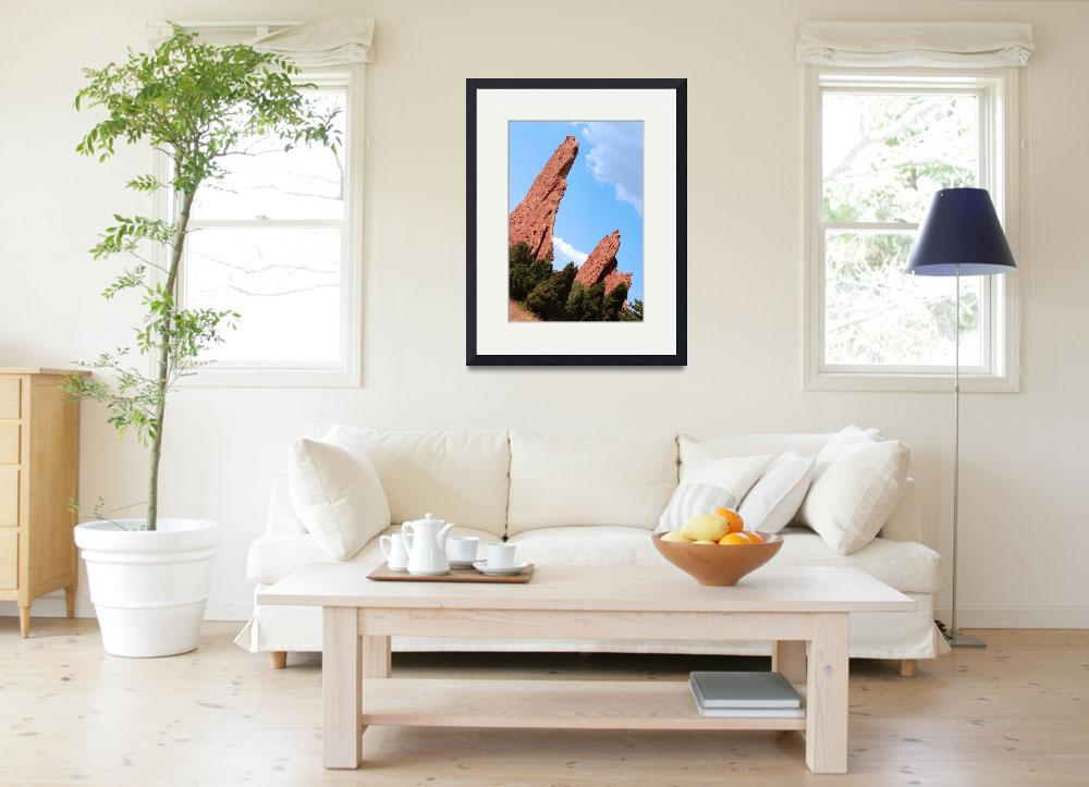 """Garden of the Gods Colorado&quot  (2005) by LunarImage"