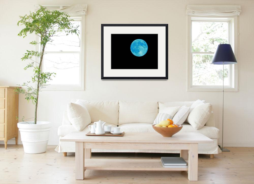 """""""Blue Moon""""  (2014) by JGoodrell"""