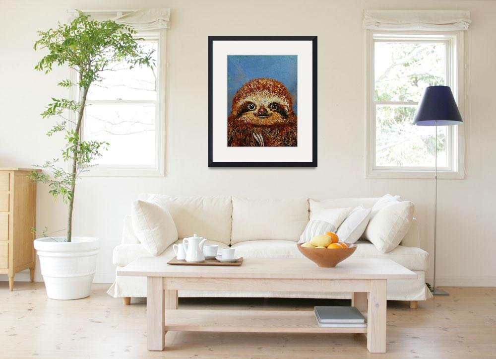 """""""Baby Sloth&quot  by creese"""