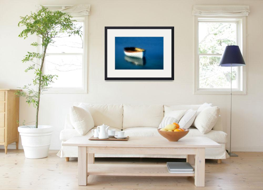 """""""Rustic wooden row boat, Cape Cod&quot  (2008) by CapeLight"""