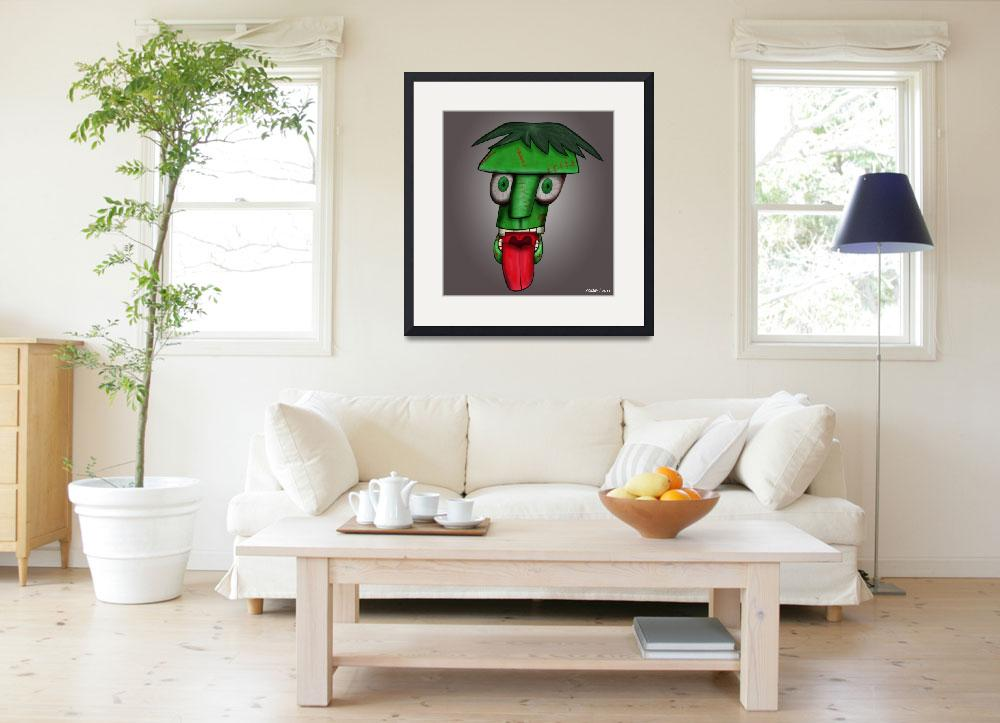 """""""Green Goof&quot  (2011) by kenmo"""