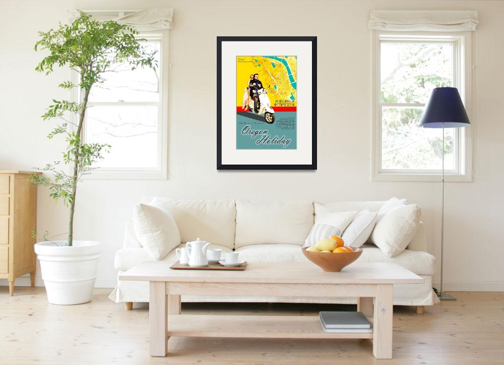 """""""Oregon Holiday Poster Print&quot  by markofphotography"""