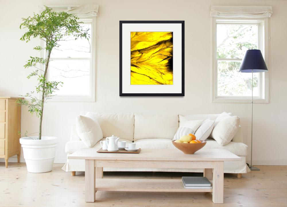 """""""yellow flesh&quot  (2009) by LOUISEDIONNE"""