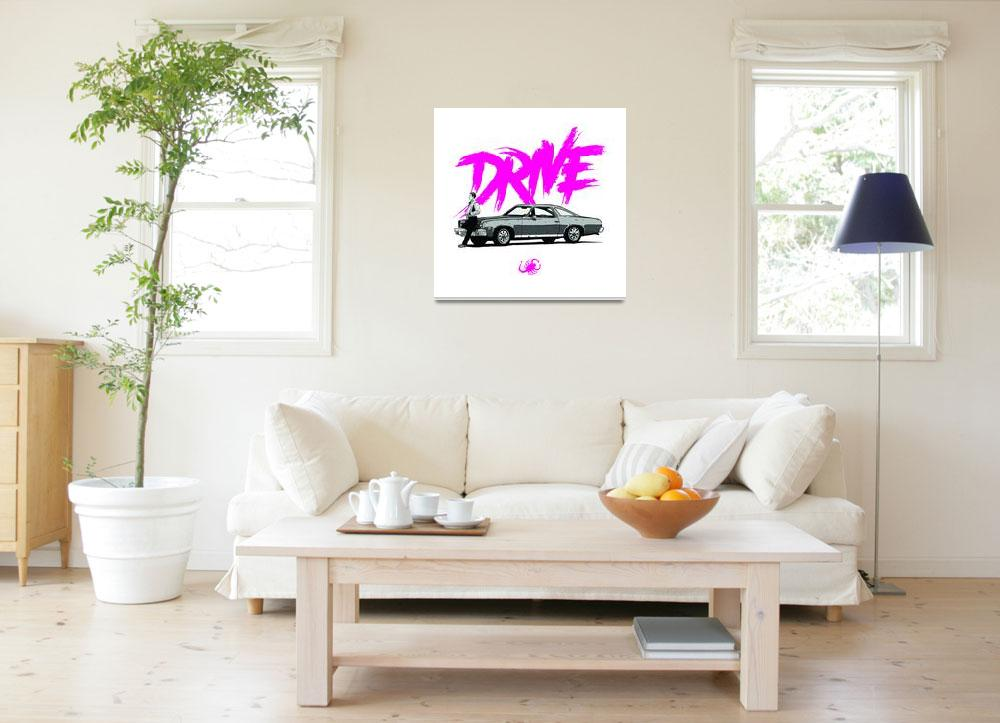 """DRIVE (White ed.)&quot  (2013) by federicomancosu"