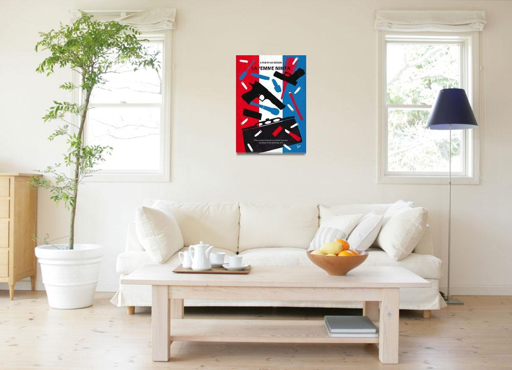 """No545 My La Femme Nikita minimal movie poster&quot  by Chungkong"