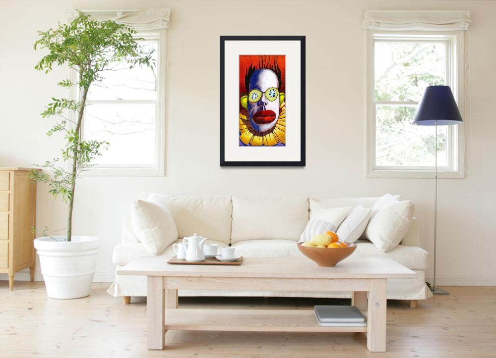 """""""Cucumber Clown&quot  by MikeCressy"""