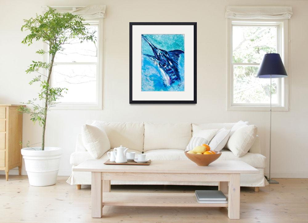 """""""Jumping Marlin2&quot  by lisapyoung"""
