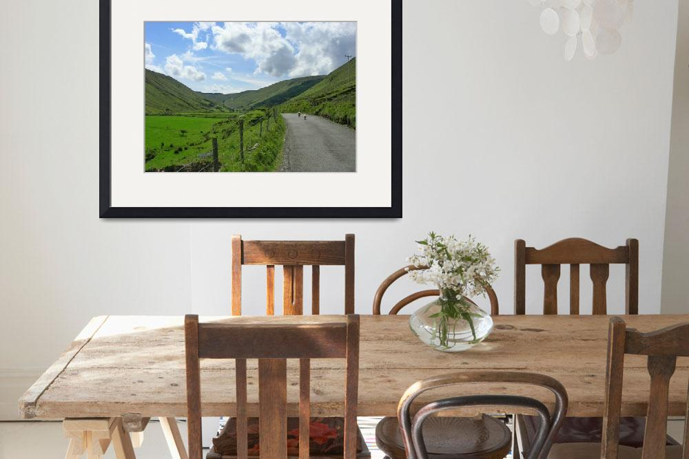 """""""Heading Up Glengesh Pass&quot  by donjo"""