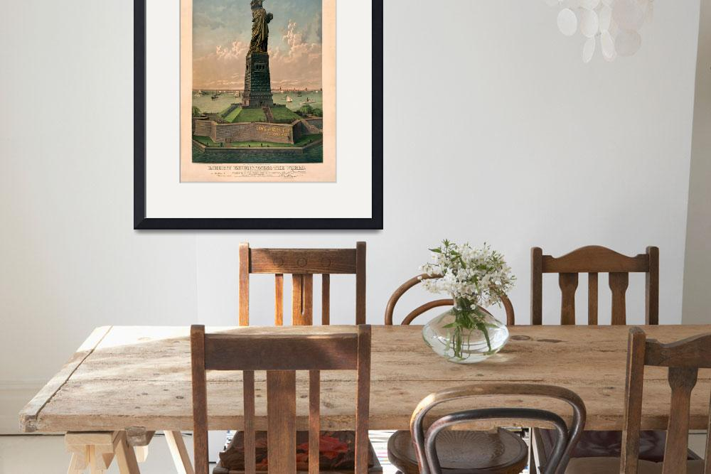"""""""Liberty Enlightening the world&quot  by worldwidearchive"""