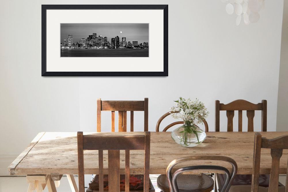 """Boston (Black & White)&quot  by IK_Stores"