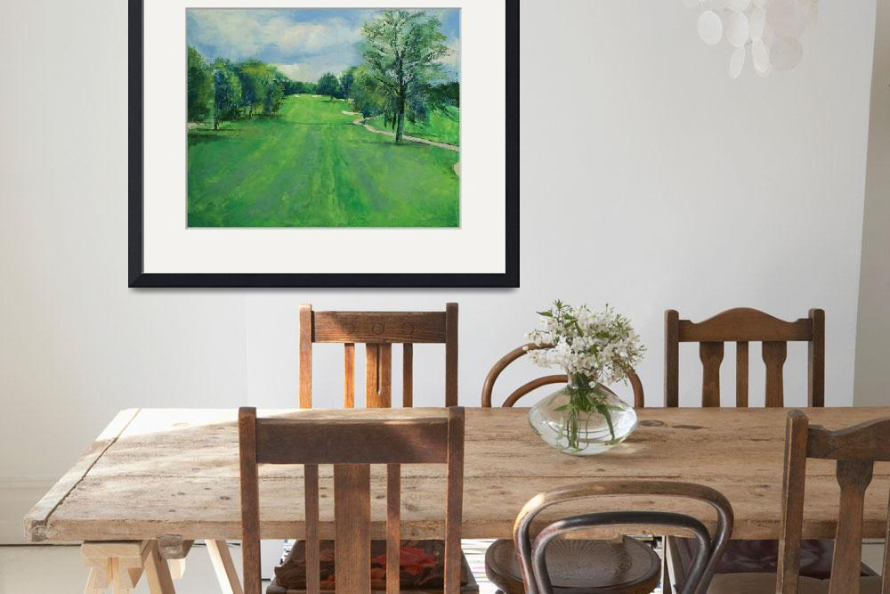 """""""Fairway to the 11th Hole&quot  by creese"""