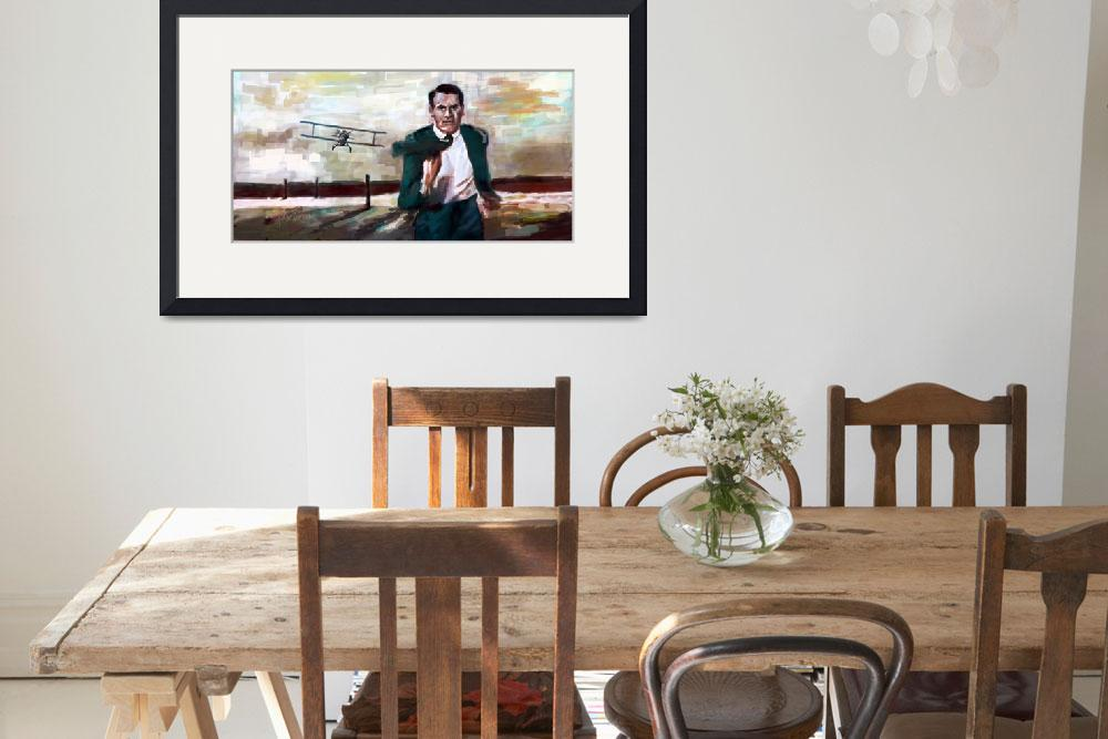 """""""Cary Grant North By Northwest Crop Duster&quot  (2017) by GinetteCallaway"""