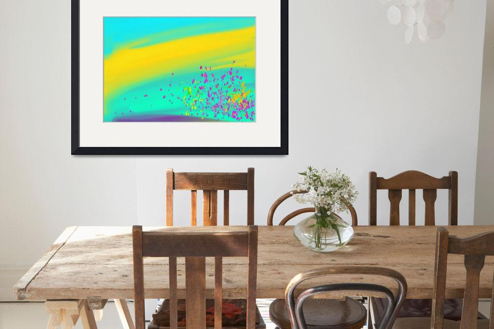 """""""Pour""""  (2016) by AbstractArtPrints"""
