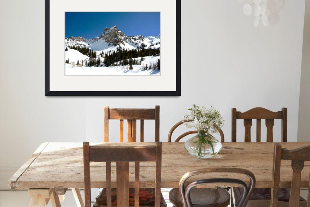 """""""Lake Blanche Panorama&quot  (2009) by flowphotography"""