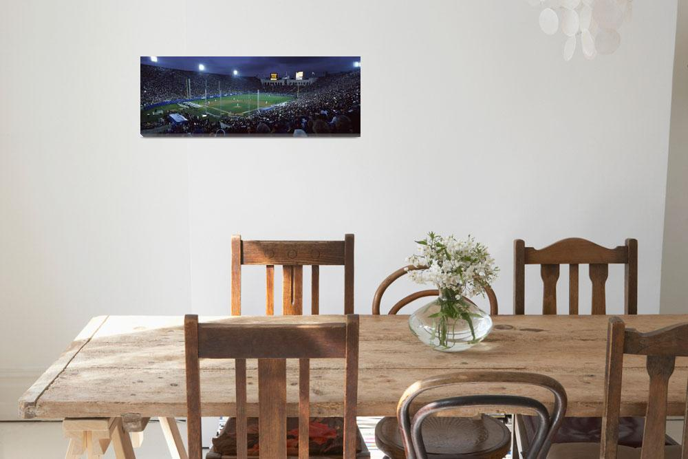 """""""Spectators watching baseball match""""  by Panoramic_Images"""