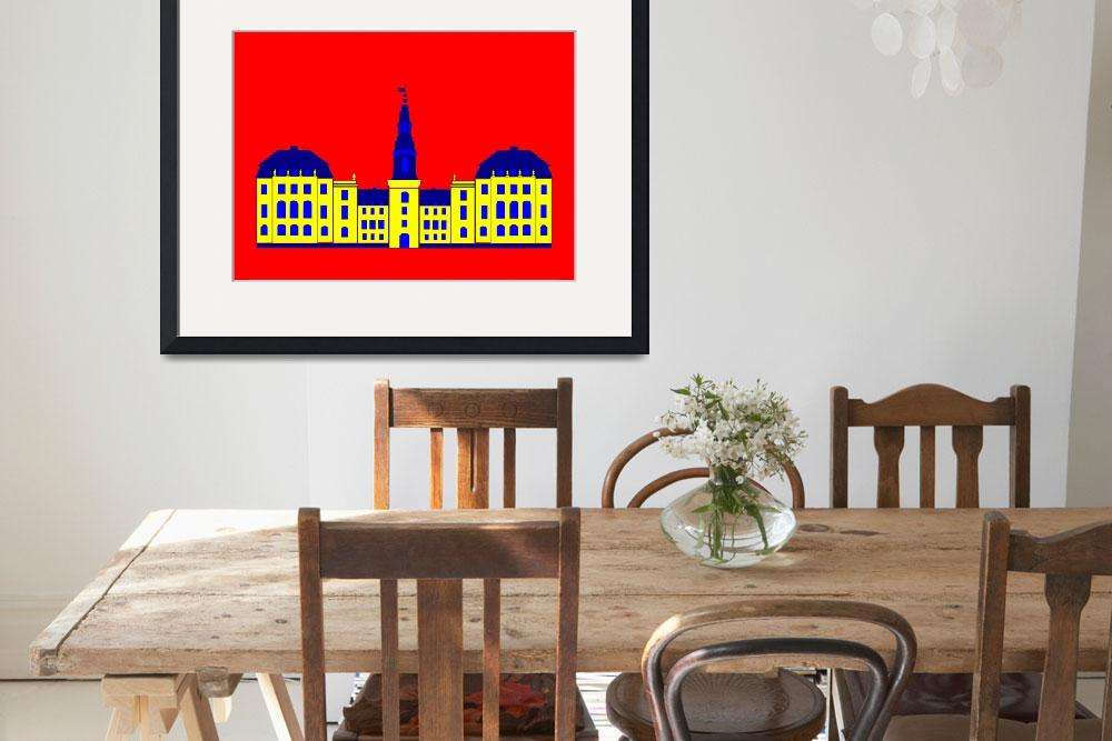 """""""Christiansborg Yellow&quot  by Lonvig"""