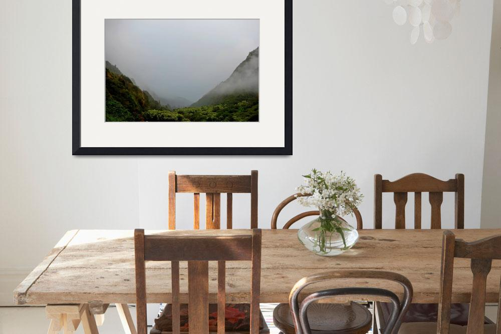 """""""Iao Valley State Park Study 10""""  (2019) by robertmeyerslussier"""