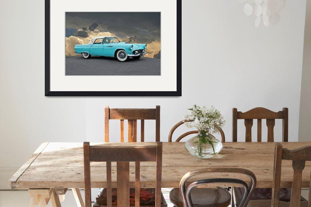 """1955 Ford Thunderbird""  by FatKatPhotography"