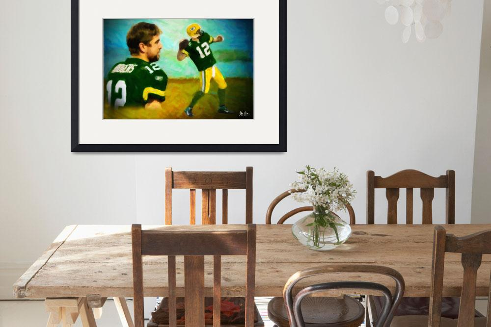 """""""Aaron Rodgers&quot  (2011) by Lemonjello"""