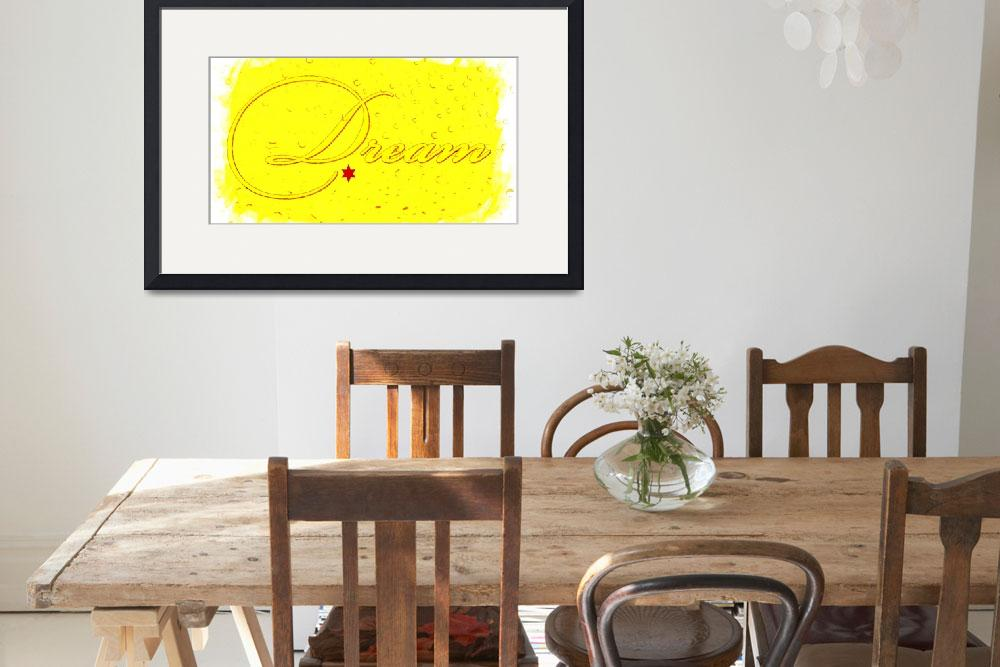 """""""dream yellow drops&quot  by lizmix"""