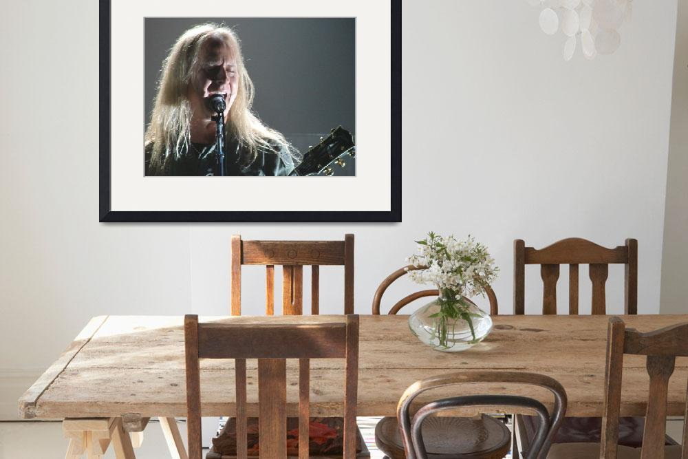 """""""Alice in Chains - Jerry Cantrell""""  (2010) by robvena"""