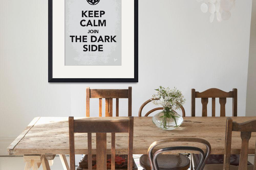 """""""My Keep Calm Star Wars - Galactic Empire-poster&quot  by Chungkong"""