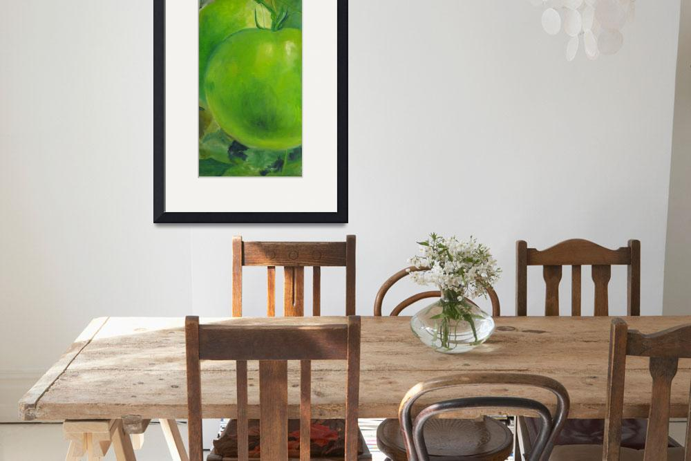 """""""green tomatoes&quot  (2010) by artistejbeach"""