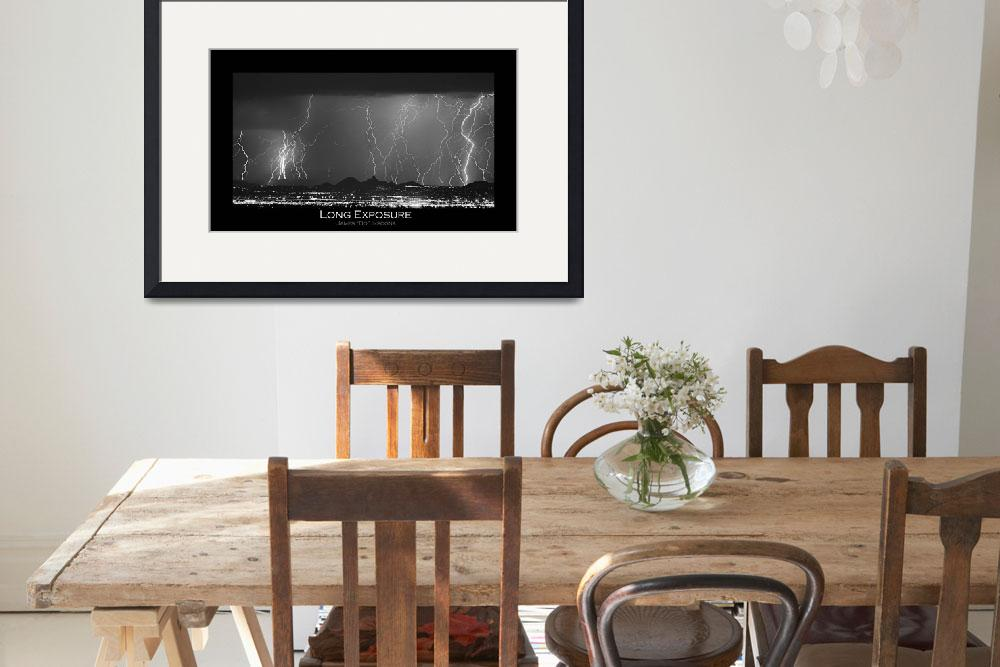 """Long Exposure - Fine Art Poster Print&quot  (2010) by lightningman"