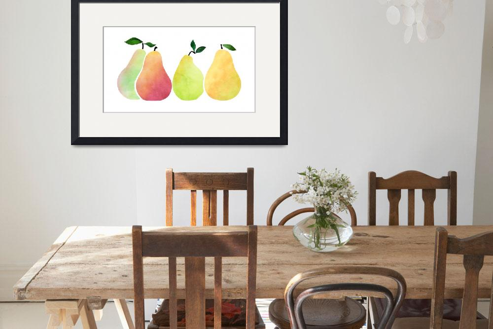 """""""Pears&quot  (2018) by moderntropical"""
