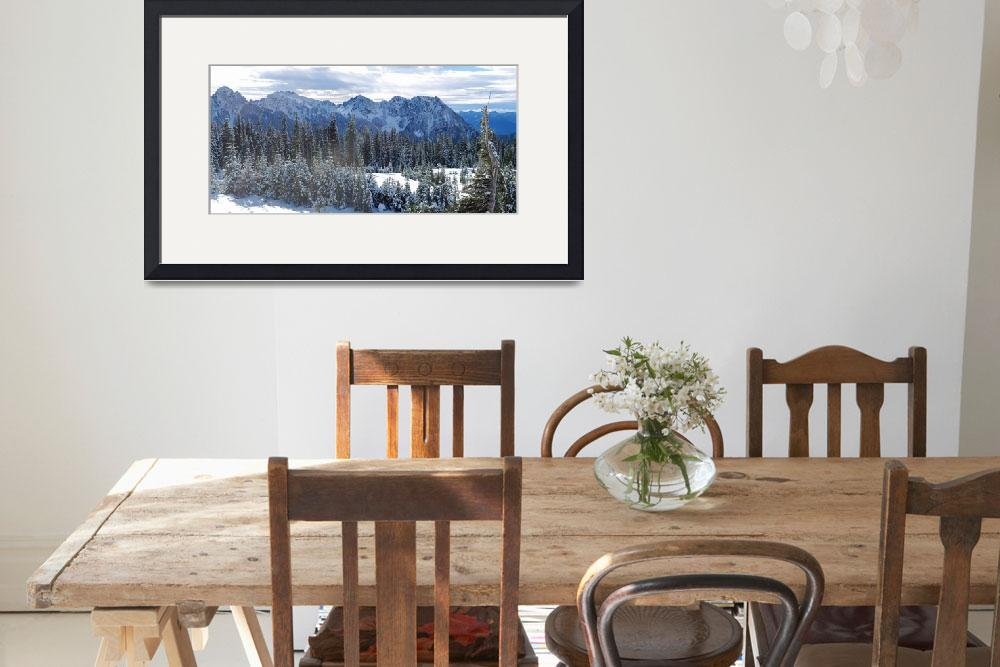 """""""Mount Rainier National Park&quot  by North22Gallery"""