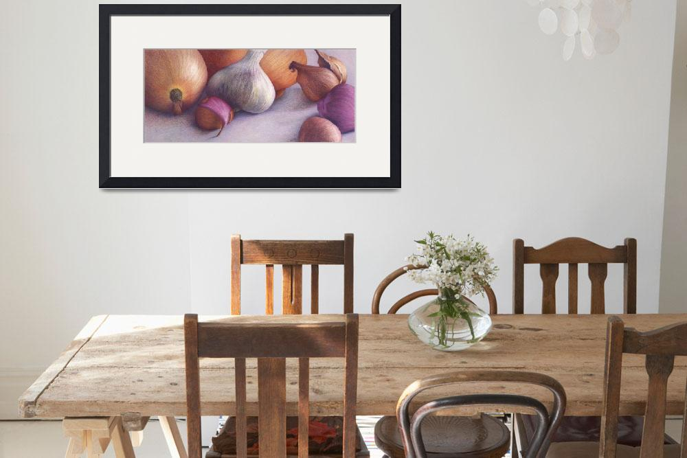 """""""Among the Onions&quot  by JoBradney"""