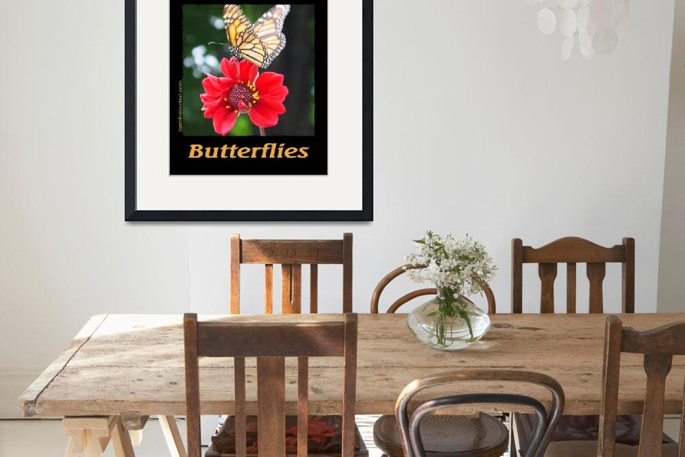 """""""Distracted by Butterflies 04167&quot  by quotes"""