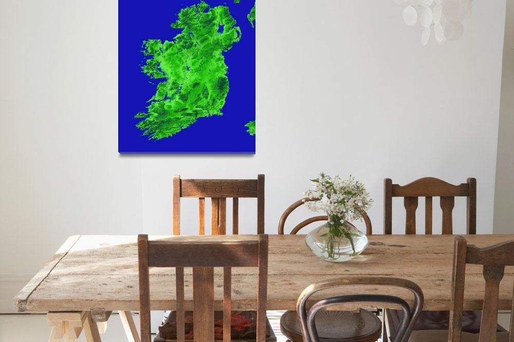 """Ireland&quot  (2012) by Hein"