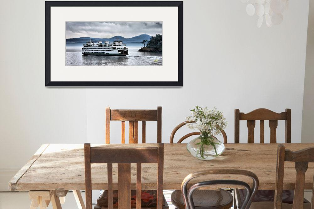 """""""Anacortes to Orcas Ferry&quot  (2011) by gopnw"""