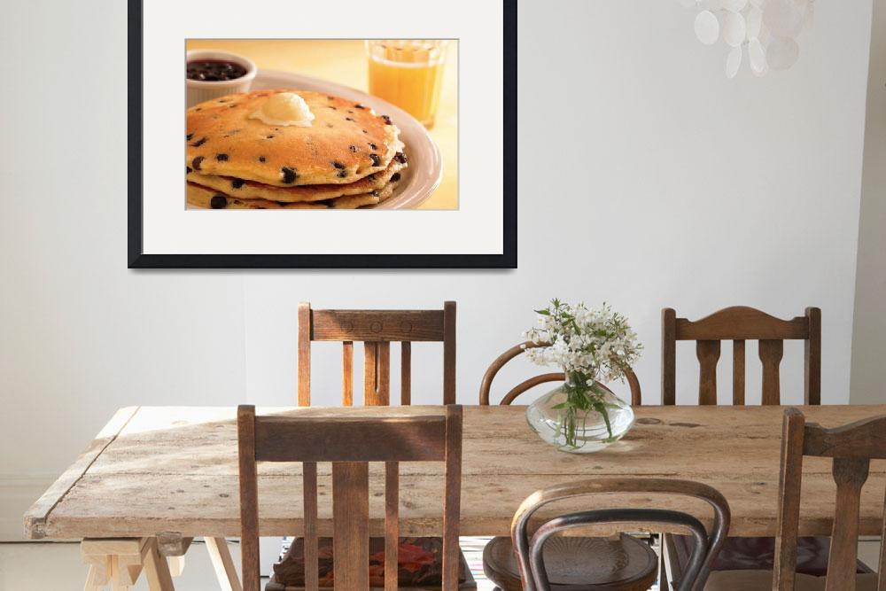 """""""Memories Of A Blueberry Pancakes Breakfast""""  (2015) by AnswersFound"""